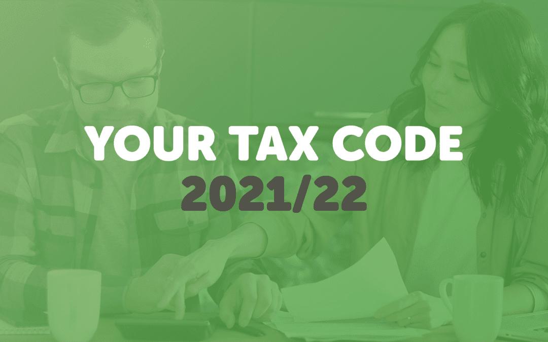 New tax year, new tax code